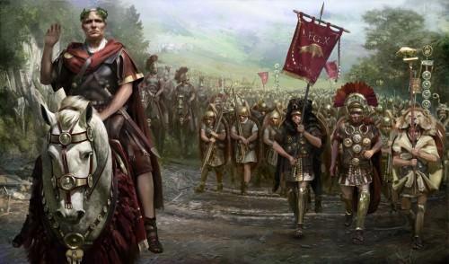 César en la Galia