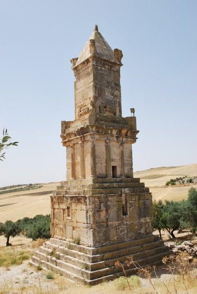 Mausoleo Numidian de Thugga