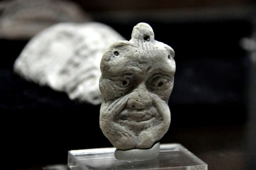 Clay mask from the old Babylonian era
