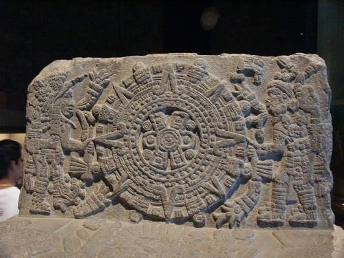 Trono de Motecuhzoma, detalhe
