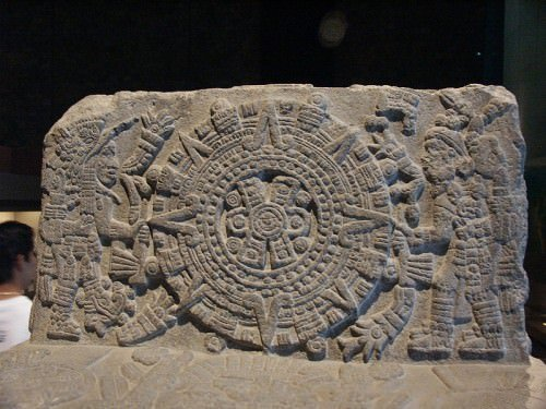 Throne of Motecuhzoma, Detail