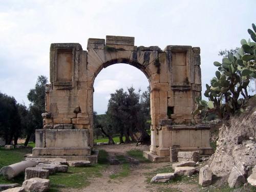 Arco de Alexandre Severo, Dougga
