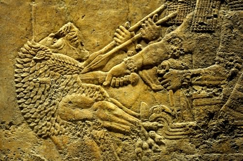Lion-hunting Scene, King Ashurbanipal