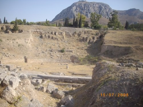 Theatre at Korinth