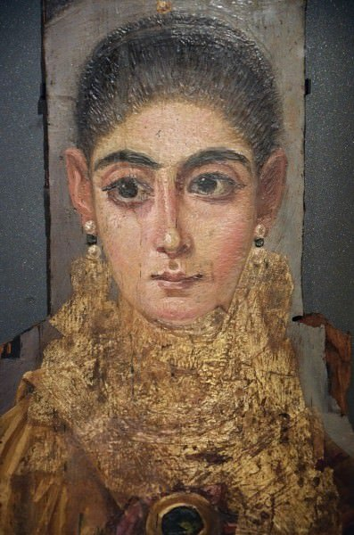 Mummy Portrait of a Woman