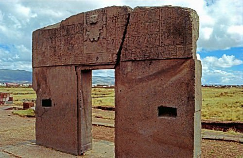 Portal do Sol, Tiwanaku