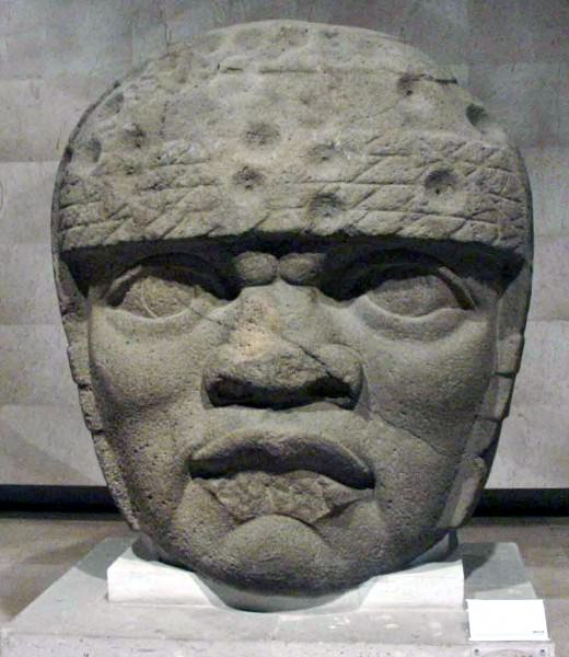 Olmec Colossal Stone Head