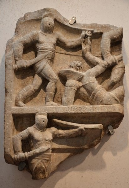 Gladiador relieve