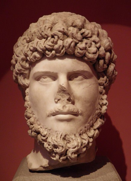 El emperador romano Lucio Vero