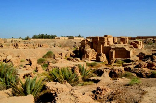 Ruins of the North Palace of  Nebuchadnezzar II , Babylon