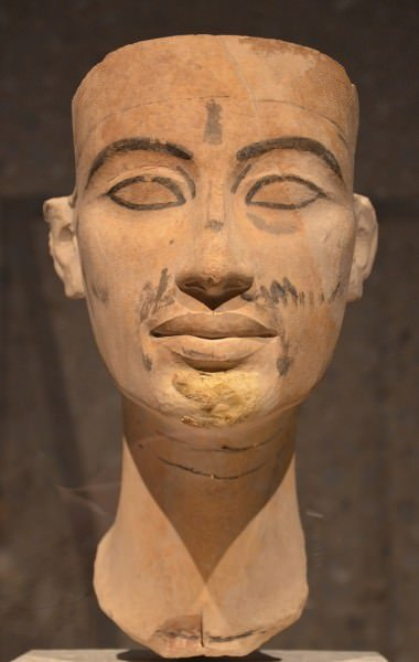Unfinished Head of Nefertiti