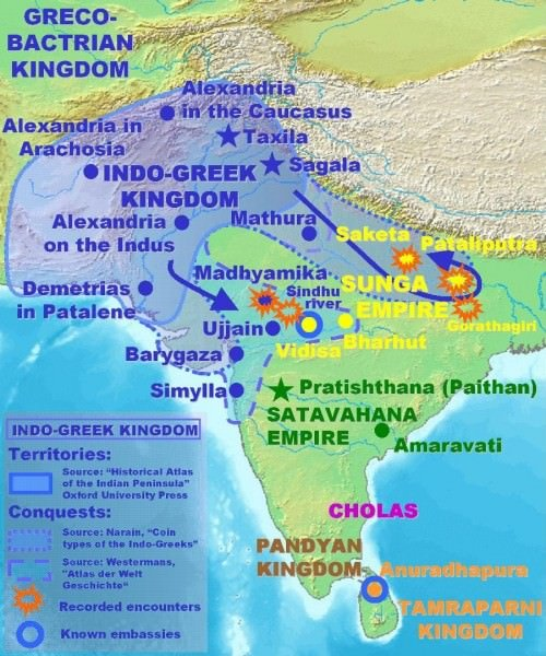Cultural links between india the greco roman world article indo greek campaigns thecheapjerseys Image collections