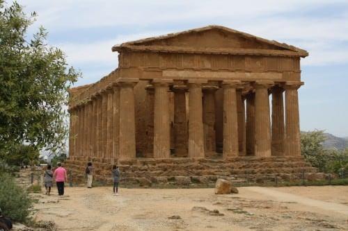 Templo de la Concordia, Agrigento
