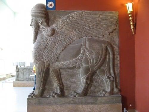 Shedu-Lamassu do Palácio de Tukulti-Ninurta I