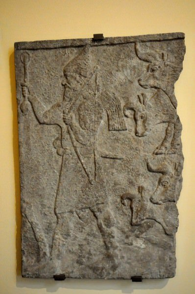 A Wall Relief from Tiglath-Pileser III's Palace