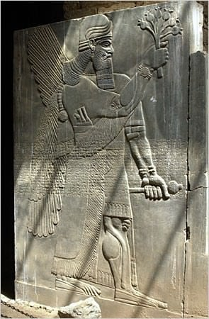 Ashurnasirpal II Wall Relief