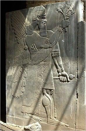 Relevo de parede de Ashurnasirpal II