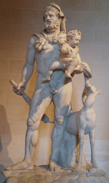 Hercules and Telephus