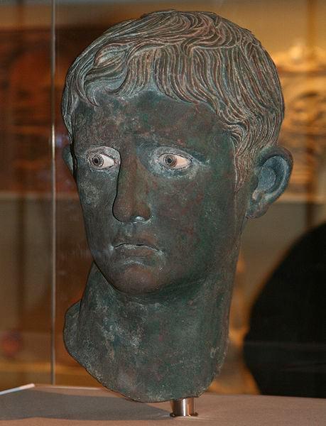 O chefe de Meroe de Augusto César