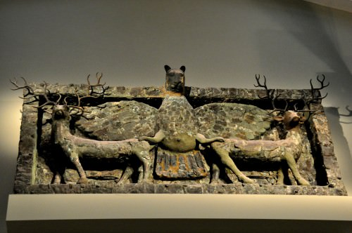 Imdugud Copper Frieze from the Ninhursag Temple
