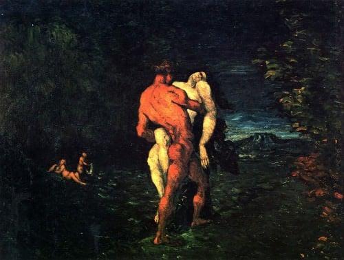 El rapto (Hércules y Alcestis)