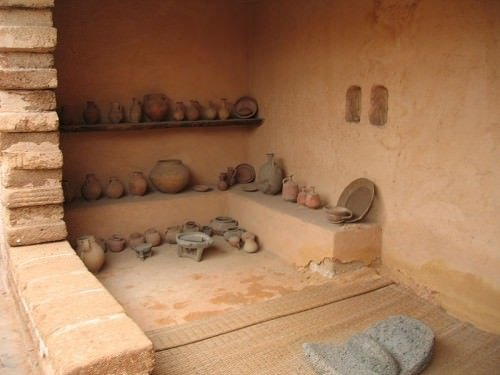Reconstructed Israelite House