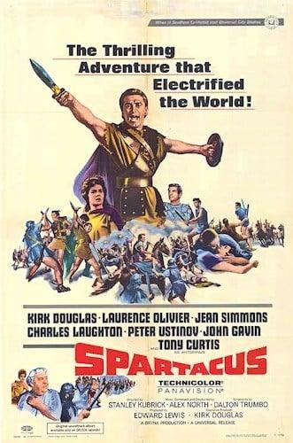 Cartel de la película Spartacus 1960