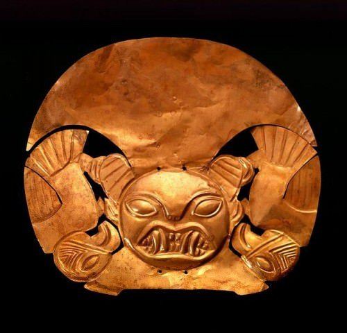 Moche Gold Headdress