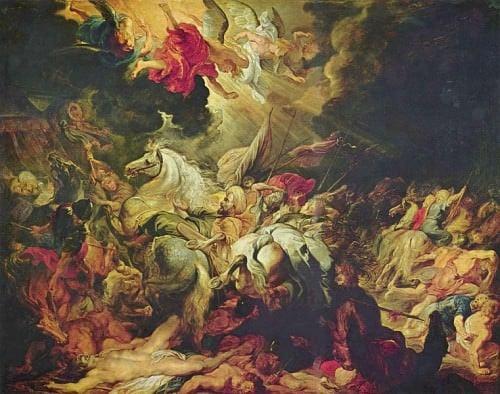 La derrota de Senaquerib