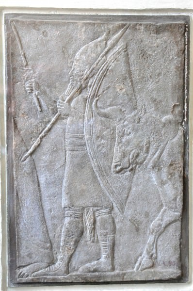 Capture of the Elamite city of Din-Sharri