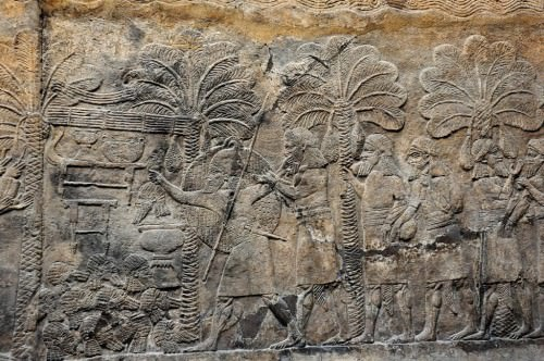 Assyrian Military Campaign in Southern Iraq