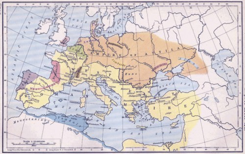Empire of Attila the Hun
