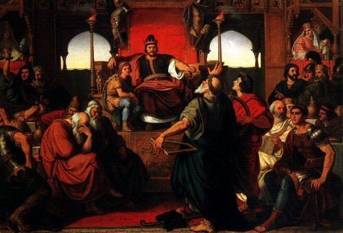 'Feast of Attila' from the web at 'http://www.ancient.eu/uploads/images/display-3076.jpg'