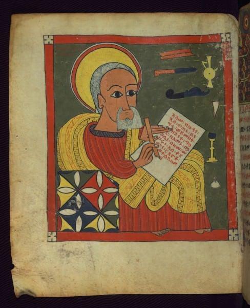 Evangelista Retrato de Lucas