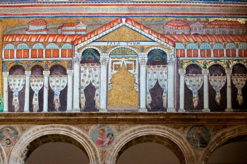 Palace of Theodoric Mosaic