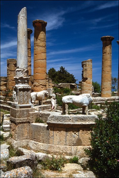 Sanctuary of Apollon in Cyrene