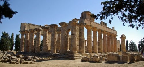 Temple of Zeus at Cyrene