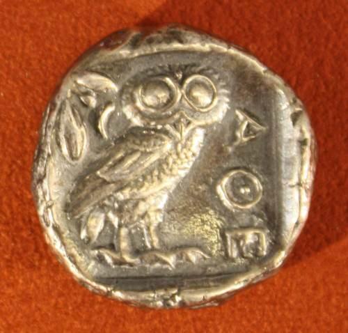 Athenian Silver Tertradrachm