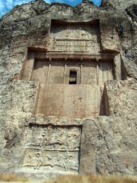 Tomb of Darius I, Naqsh-e Rustem