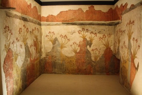 Lirios frescos, Akrotiri