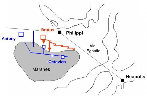 Segunda batalla de Filipos 42 a.
