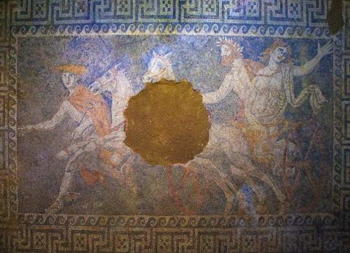 Persephone Mosaic, Amphipolis