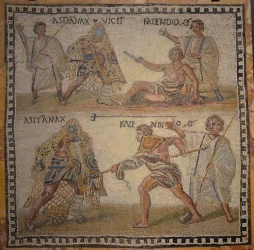 Mosaico de Gladiador
