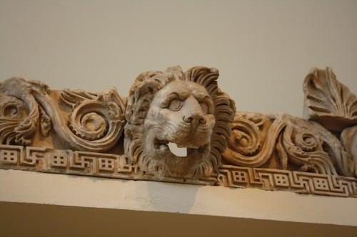 Sima en forma de león