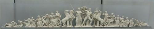 Frontão Oeste do Partenon (Reconstrução)