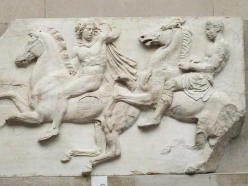 Jinetes del Friso del Partenón