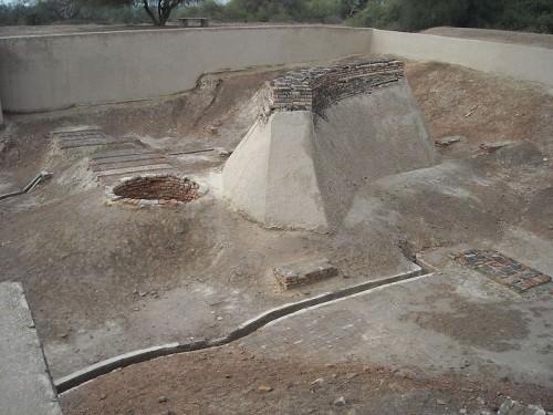 Plataforma de pozo y baño, Harappa