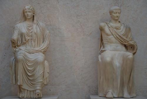 Tiberio y Livia