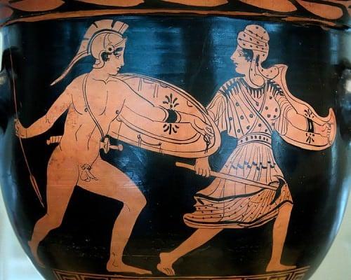 Achilles & Penthesileia