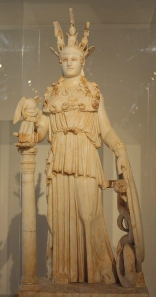 El Varvakeion Athena